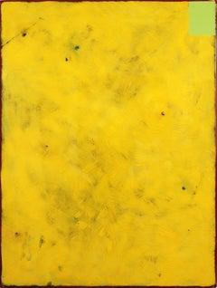 Sunday Yellow - Modern Acrylic and Resin Artwork