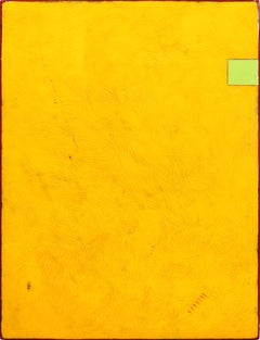 Yellow Love Letters - Modern Acrylic and Resin Artwork