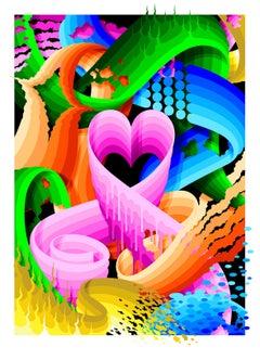 "Ricky Watts, ""Love Wins"", Archival Pigment Print, 2018"