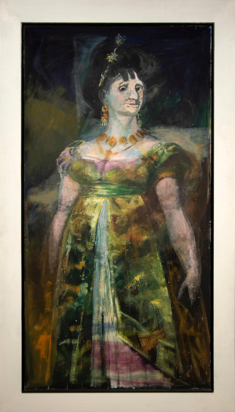Maria Luisa (After Goya) - Painting by Rico Lebrun