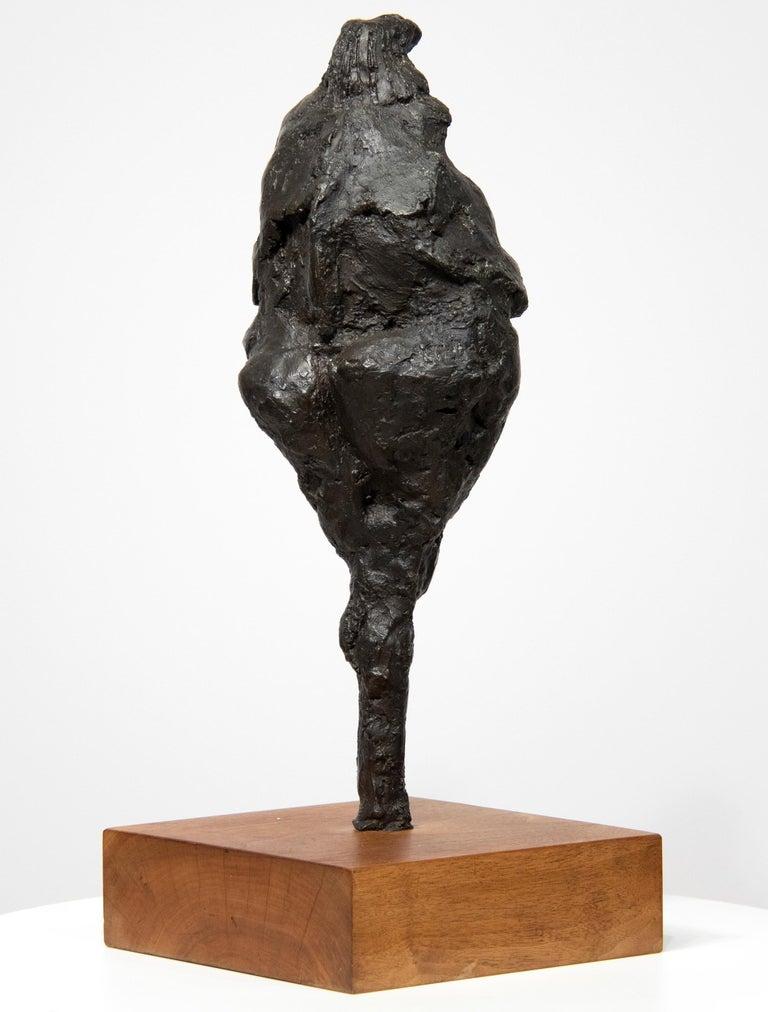 Bird-Headed Figure - Sculpture by Rico Lebrun