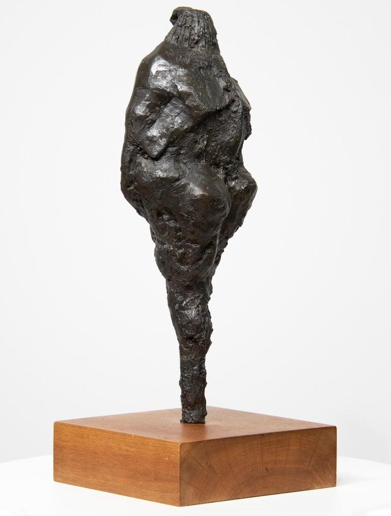 Bird-Headed Figure - Post-War Sculpture by Rico Lebrun