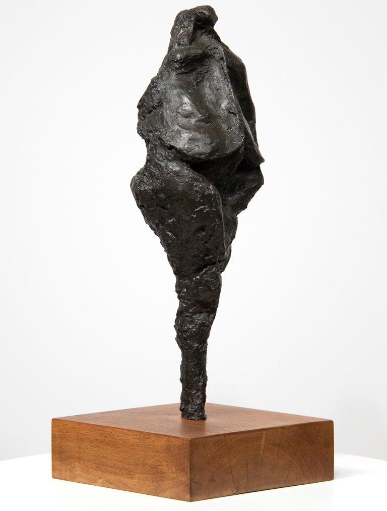 Rico Lebrun Figurative Sculpture - Bird-Headed Figure