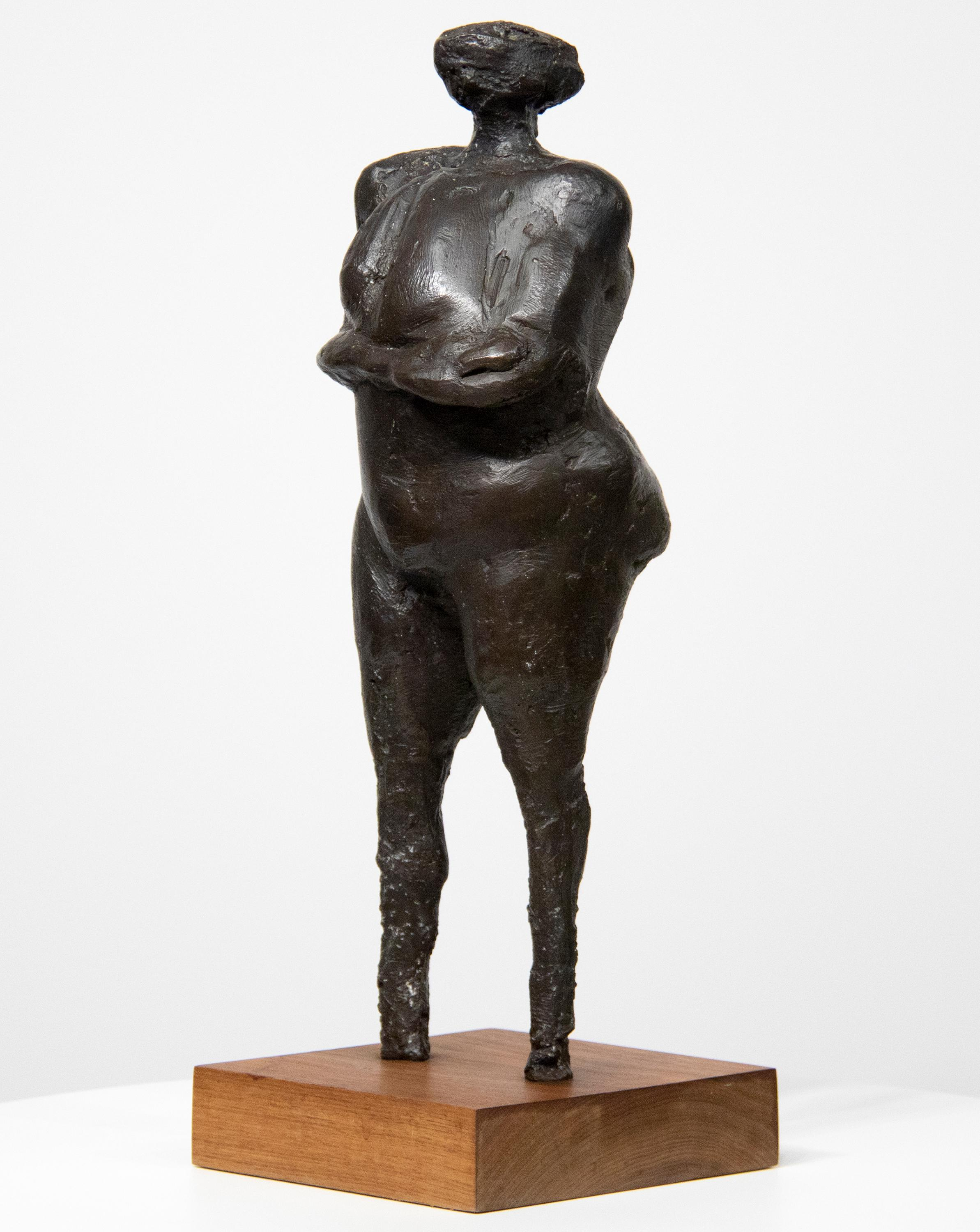 Woman with Arms Under Breasts