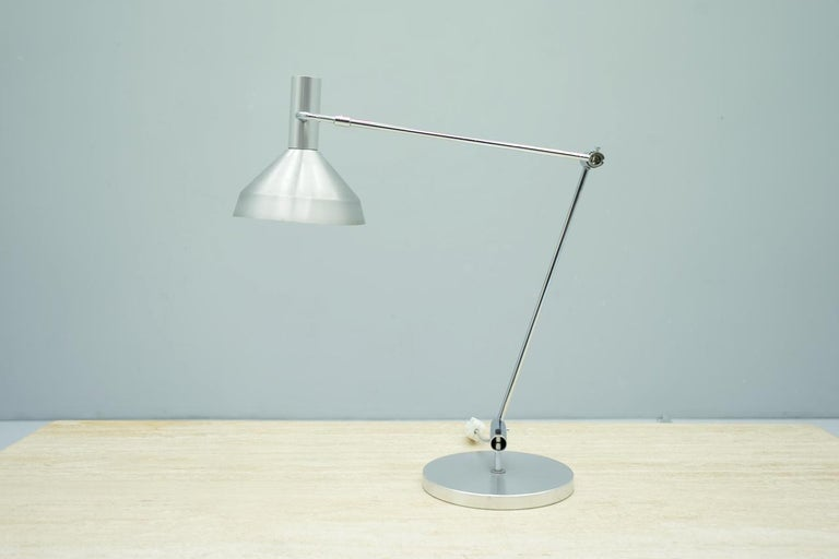 Rico & Rosemarie Baltensweiler desk lamp, Switzerland, 1960s.  Good condition with small signs of usage.