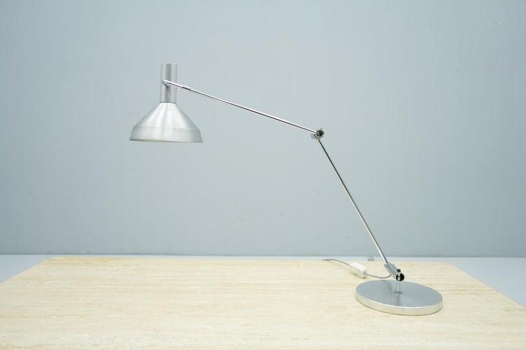 Mid-Century Modern Rico & Rosemarie Baltensweiler Desk Lamp, Switzerland, 1960s For Sale