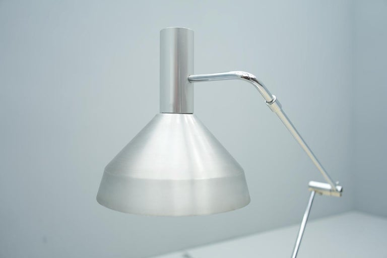 Swiss Rico & Rosemarie Baltensweiler Desk Lamp, Switzerland, 1960s For Sale