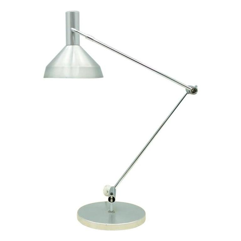 Rico & Rosemarie Baltensweiler Desk Lamp, Switzerland, 1960s For Sale