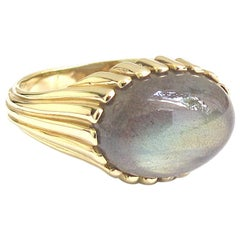 Jacqueline Rose Ridge Labradorite Ring