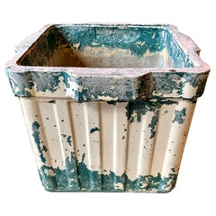 Ridged Box Planter by Willy Guhl