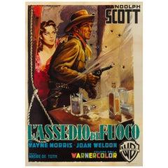 """""""Riding Shotgun / L' Assedio di Fuoco"""" Film Poster"""