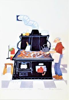 Cook and Proprietor, Aniak Lodge