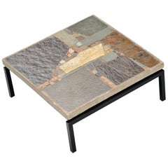 Rien Goene Abstract Artwork Coffee Table Holland, 1959