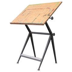 """Rietveld and Kramer """"Reply"""" Drafting Table"""