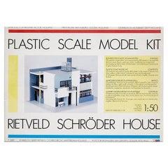 Rietveld Schröder Model House Toy, 1987