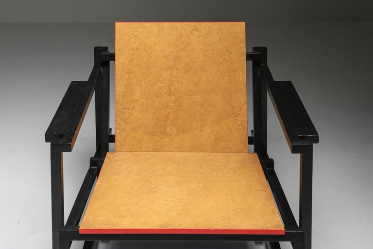 Rietveld Style Armchair For Sale 6