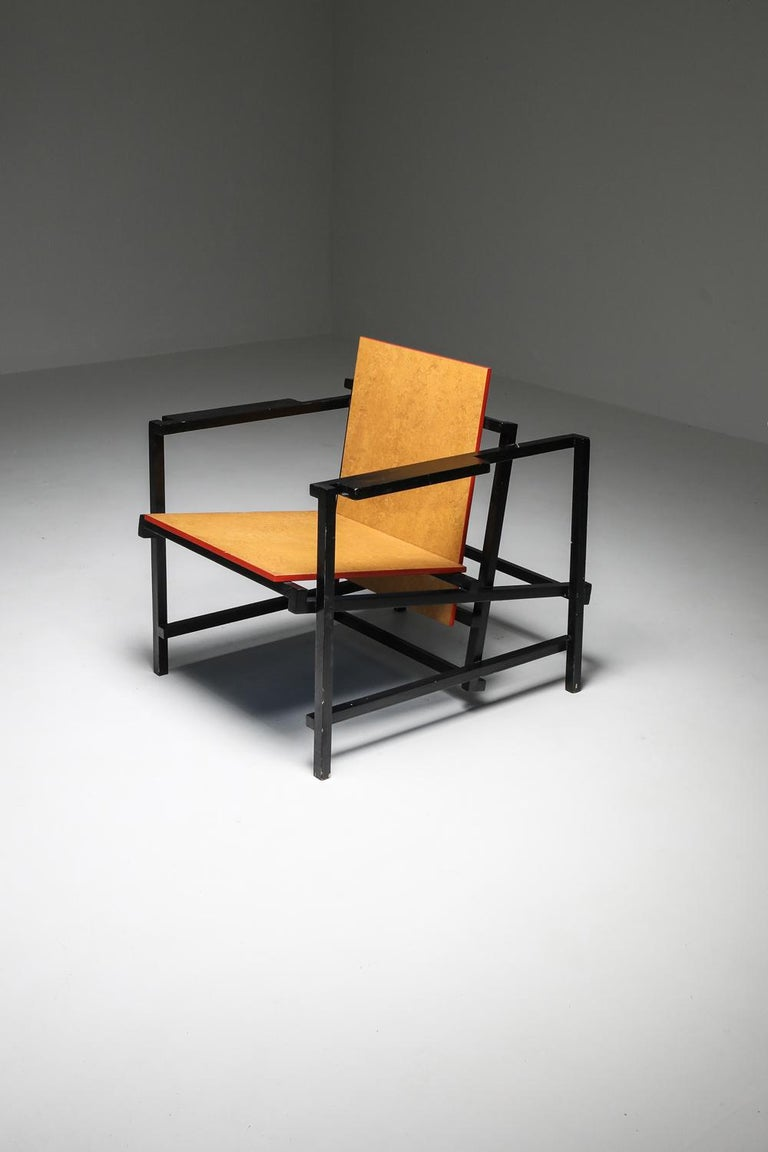 Rietveld Style Armchair For Sale 7