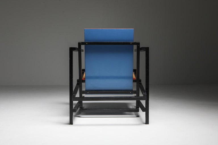 Modern Rietveld Style Armchair For Sale