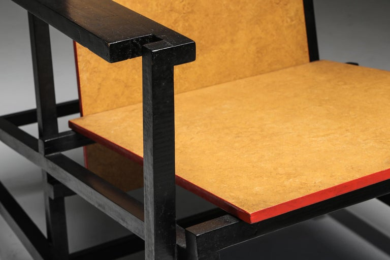 Rietveld Style Armchair For Sale 2