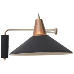 Rietveld Style Industrial Wall Mount Lamp by Anvia