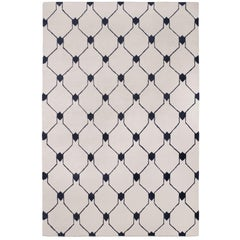 Rif Light Hand-Knotted 10x8 Rug in Wool by The Rug Company