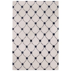 Rif Light Hand-Knotted Area Rug in Wool by The Rug Company