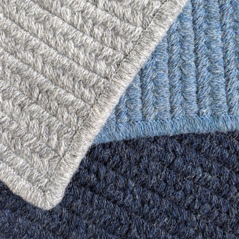 The Riff rug is designed by Luft Tanaka for Souda. This listing is for a 9x12 rug in the colors shown in the first image.