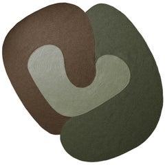 Riff Rug from Souda, Medium, Braided, Multicolored 03