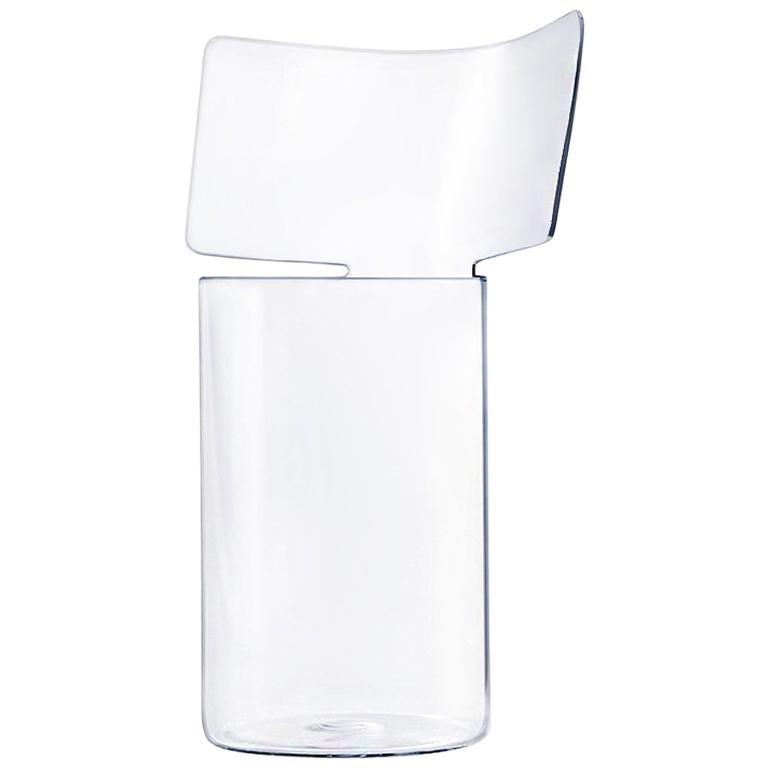 Riflessi High Blown Glass Vase by Böijte–Bottari