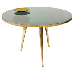 Riflesso Center and Dining Table by form A-Green Glass Version