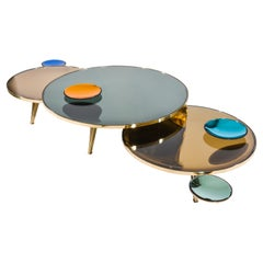 Riflesso Coffee Tables, Set of Three by form A