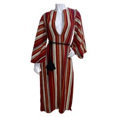 Rikma Angel Wing 1970s Striped Dress