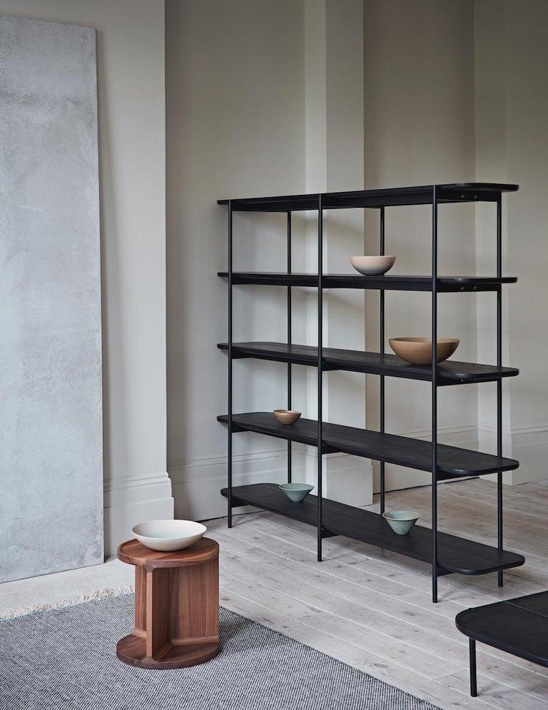 Modern Riley 5 Shelf Unit by Dare Studio For Sale