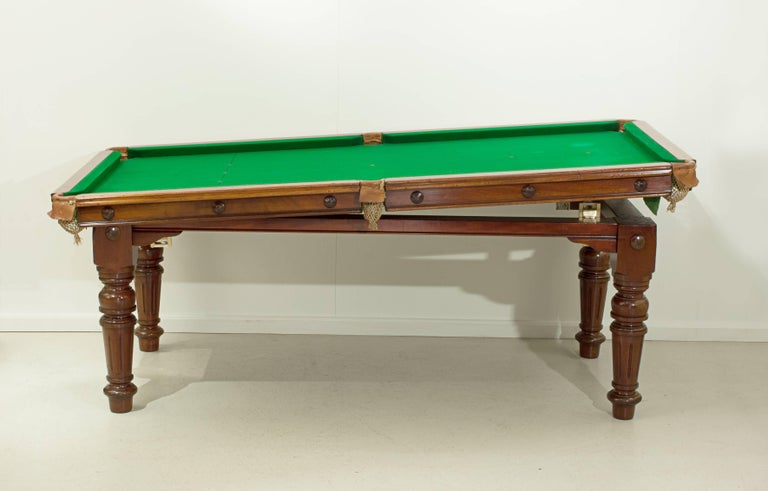 Riley Billiard Snooker Pool Dining Table For 3