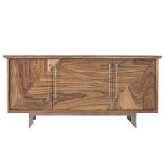 Riley Sideboard, American Hardwood and Steel