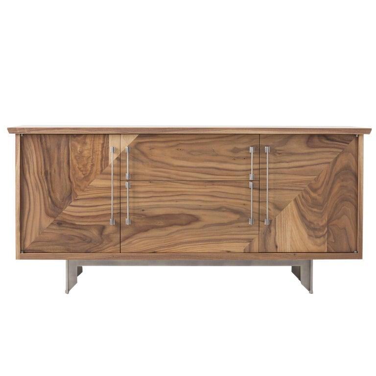 Riley Sideboard, American Hardwood and Steel