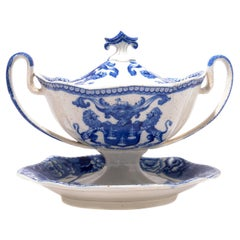 Riley Tureen and Stand from the Company of Drapers, London, circa 1820