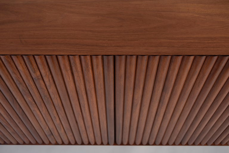 RIMA Credenza, 3M Solid Tzalam Wood For Sale 4