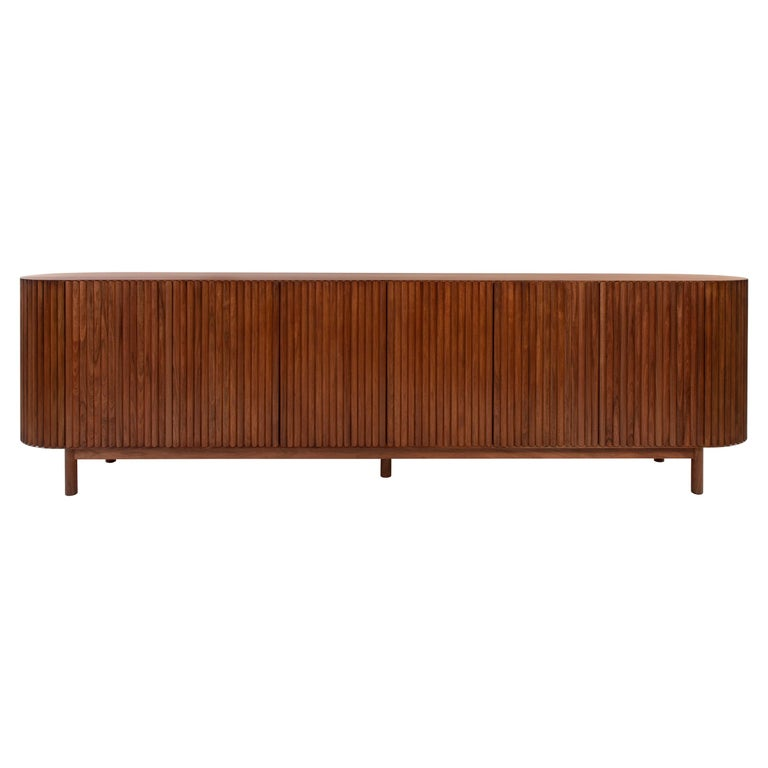 RIMA Credenza, 3M Solid Tzalam Wood For Sale