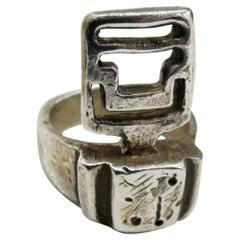 RIMA Jewels Grill Roman Key Ring