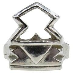 RIMA Jewels Roman Ziggurat Key Ring