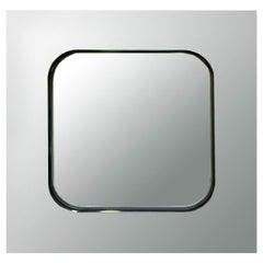 Rimadesio Square Wall Mirror, Italy, 1970s