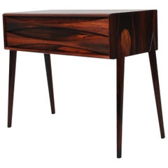 Rimbert Sandholdt Rosewood Chest, Side Table