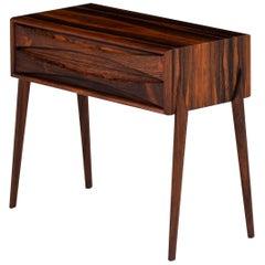 Rimbert Sandholt Side Table / Bedside Table by Glas & Trä Hovmantorp in Sweden