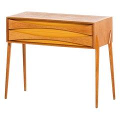 Rimbert Sandholt Side Table / Bureau Produced by Glas & Trä Hovmantorp in Sweden