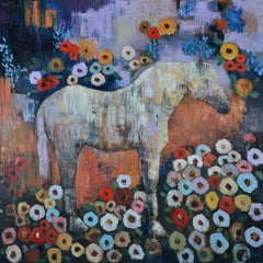 "Rimi Yang, ""Dreaming Horse"", 2018, Contemporary"