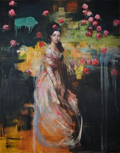 "Rimi Yang, ""Respect of High & Low (reference from Gainsborough)"", Oil on Canvas"