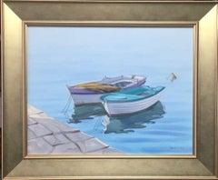 Lavender Memories, original realist marine landscape