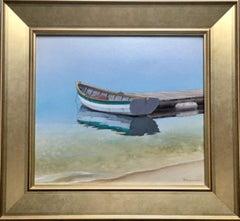 Lone Dory, original realist contemporary marine landscape