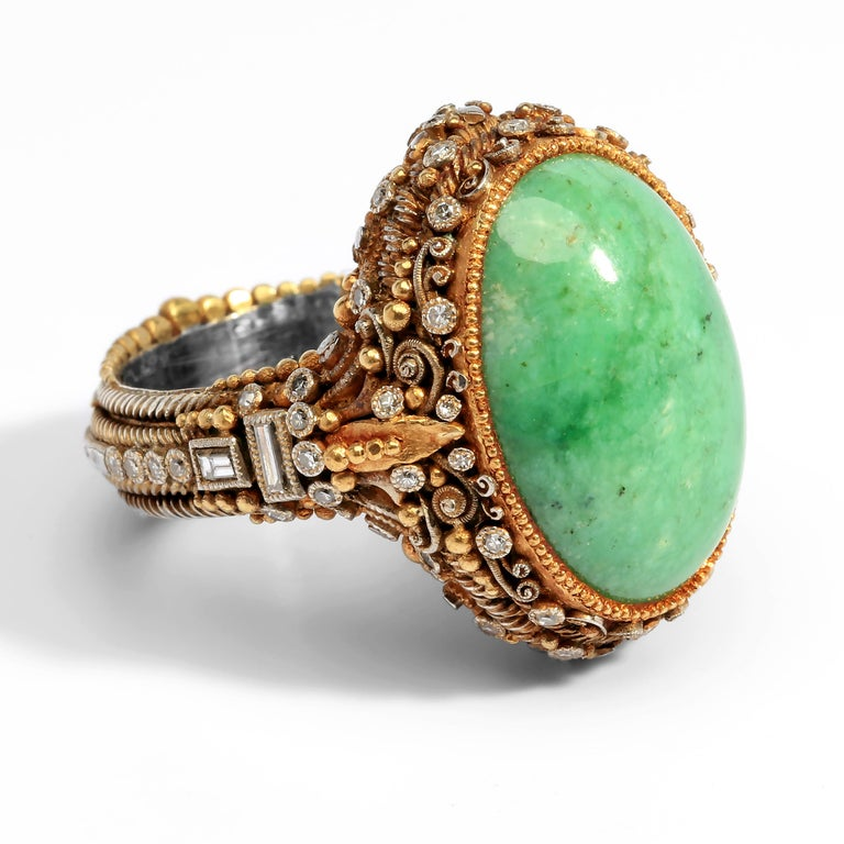 Women's or Men's Important Elmer Seidler Ring A Masterpiece of Vision and Craftsmanship